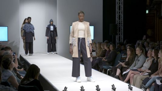 Fashion students stage Graduate Fashion Show in London