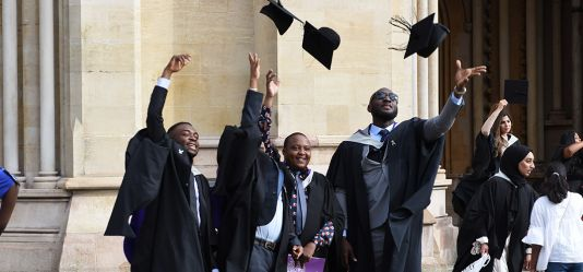 University of Hertfordshire celebrates 2019 graduates' achievements with ceremonies at St Albans Cathedral