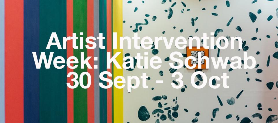 Artist Intervention Week: Katie Schwab