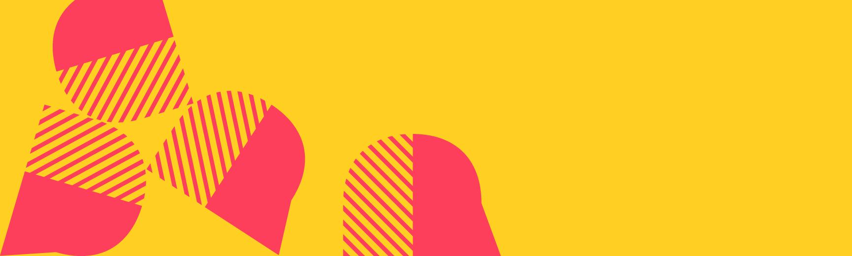 Festival of Ideas logo on orange background