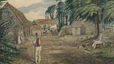 Hatfield farm painting