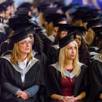 Graduates in ceremony