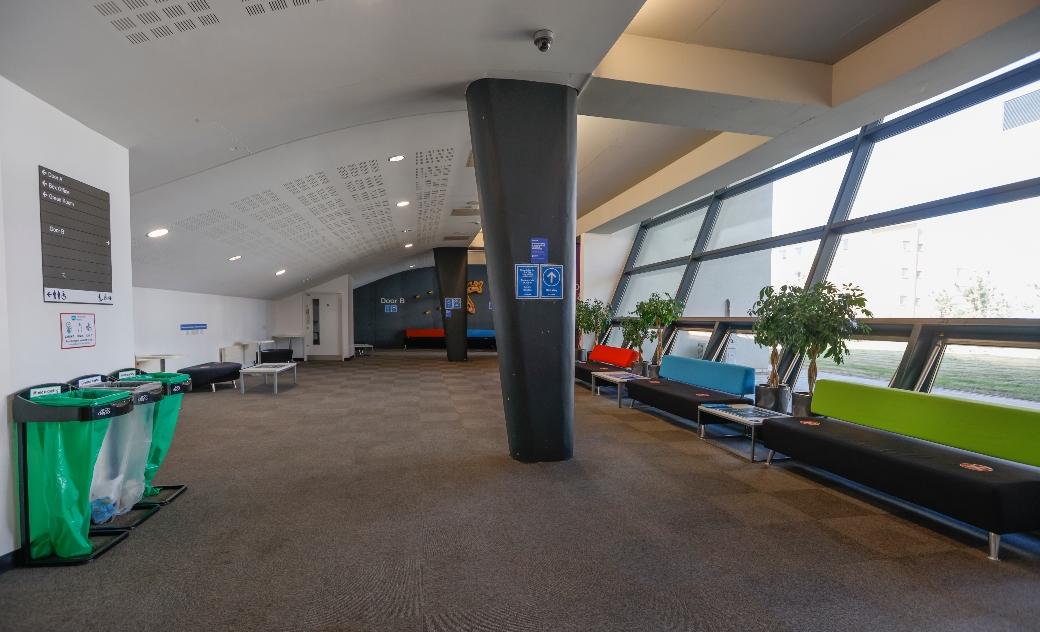Weston Auditorium foyer