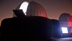 Our telescope domes opening