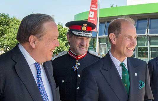 Earl of Wessex enjoys Duke of Edinburgh Award demonstrations