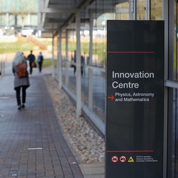 Innovation centre sign
