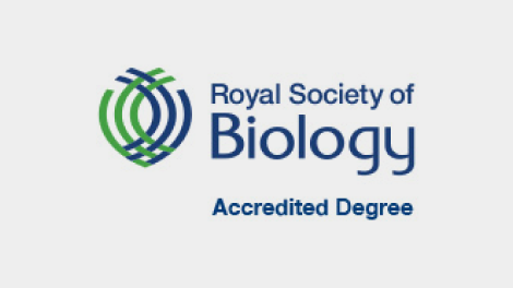 This course is accredited by the Royal Society of Biology