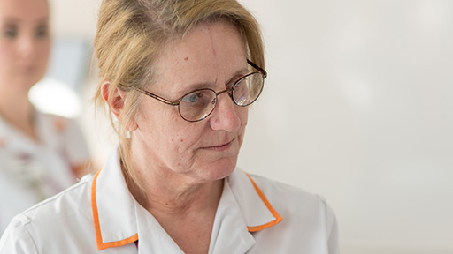 health care assistant close up
