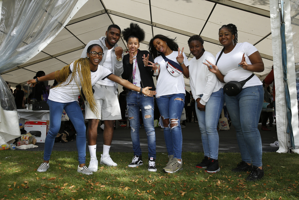 BAME students at freshers fair