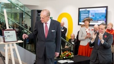 HRH The Duke of Edinburgh opens the Science Building