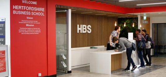 Hertfordshire Business School achieves an Athena SWAN Bronze award!
