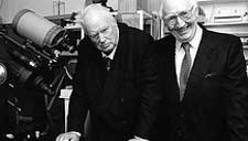 Patrick Moore and Lou Marsh
