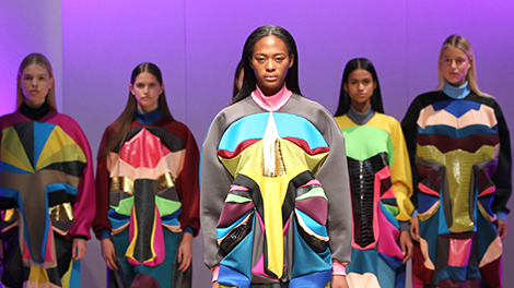 Showcase work to Industry at the prestigious Graduate Fashion Event