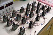 low cost particle detectors