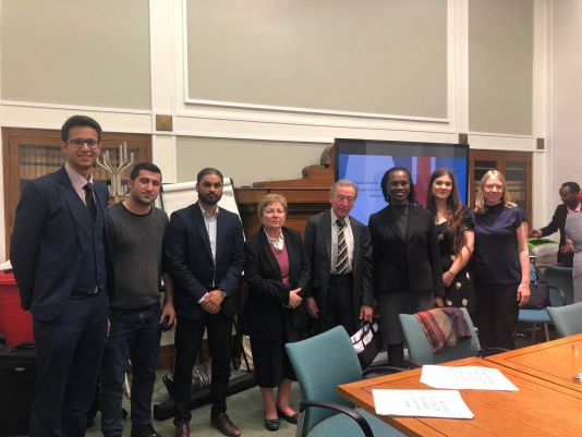 Hertfordshire Law School gives its first Streetlaw presentation as part of Refugee Week 2019