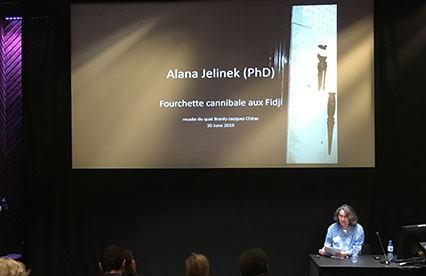 Alan Jeninek giving lecture