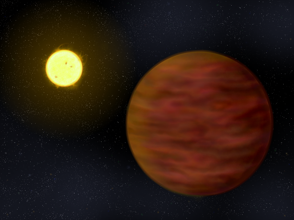 Brown dwarf companion