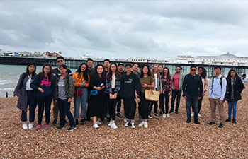 Student trip to Brighton