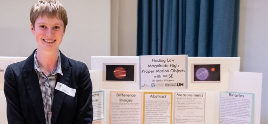 School of Physics, Astronomy and Mathematics Summer Student makes