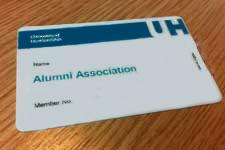 Apply for an alumni membership card