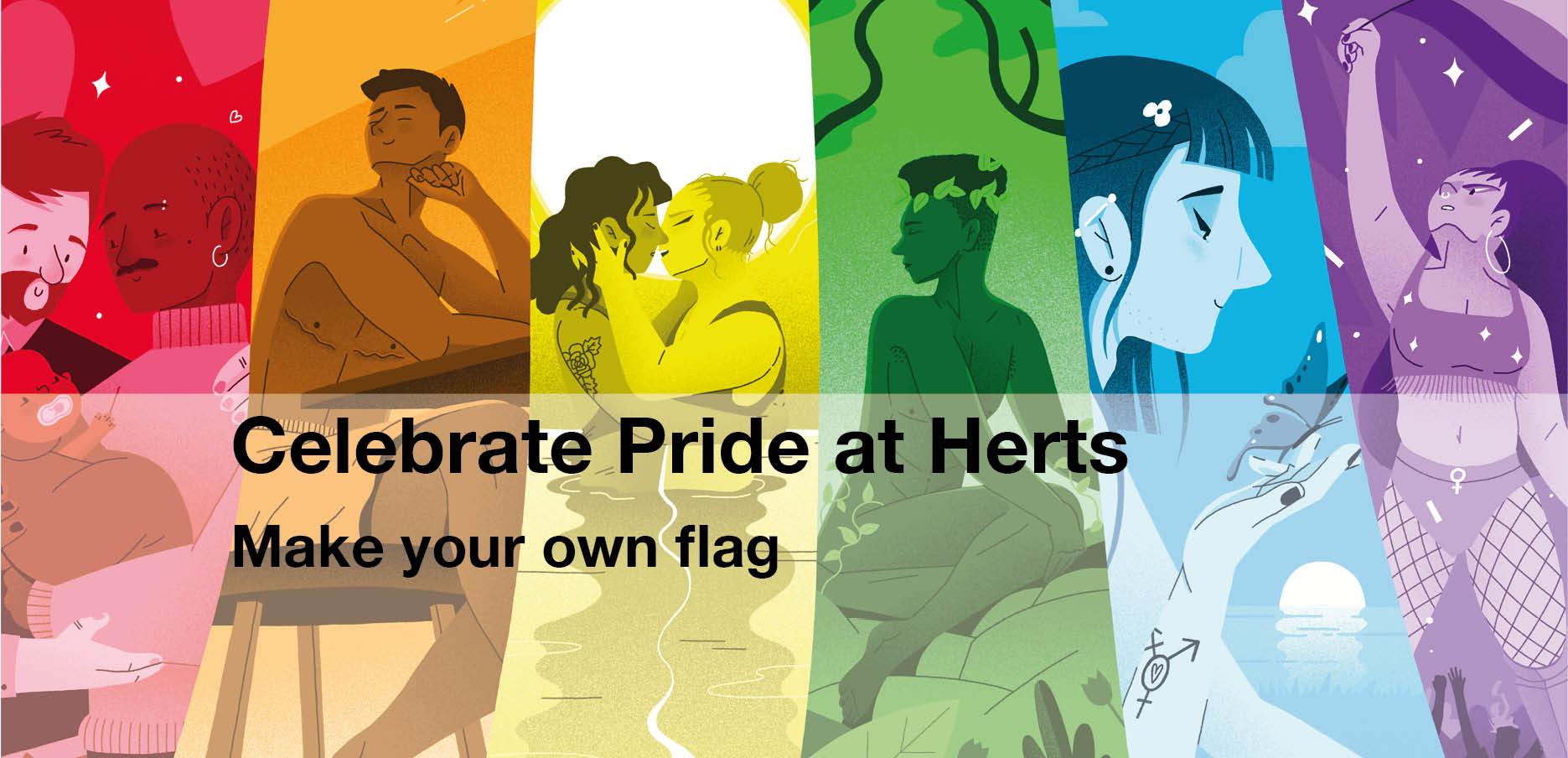 Event  - Design a Pride Flag banner image