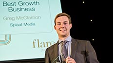 Splaat Media: Best Growth Business. Greg McClarnon - BA (Hons) Business