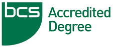 BCS accredited degree logo