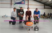 The UAV Team come second in the BMFA Quantity Challenge