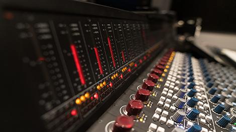 Professional grade recording studios, hosting AMS Neve consoles