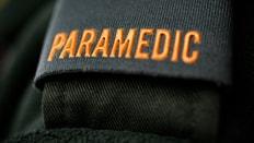 A paramedic badge