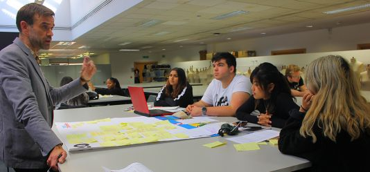 Google Design Sprint puts creative students to the test