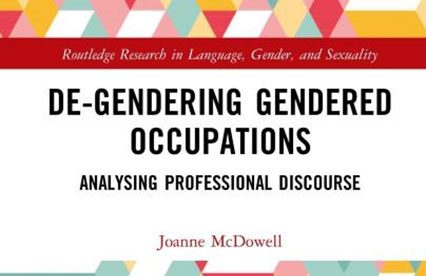 De-genering gendered occupations bookcover