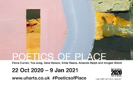 Poetics of place poster