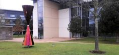 New sculpture by internationally renowned artist installed at University of Hertfordshire
