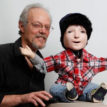 Man with Kaspar