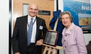 University opens new state of the art engineering laboratories thanks to widow's gift in memory of her husband