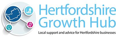 Hertfordshire Growth Hub logo