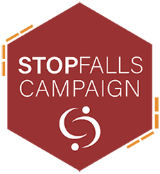 Stop falls campaign logo