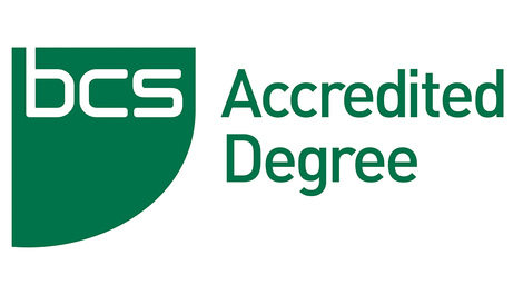 Accredited by BCS, the Chartered Institute for IT